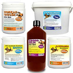 Kosttillskott för djur
