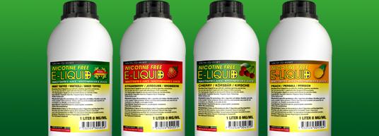 Nikotinfri e-juice 1 liter