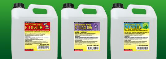 Nikotinfri e-juice 5 liter