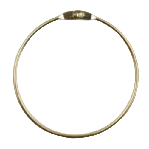 Ring utan krok för spårlina på hundbur 4.5mm x 11cm