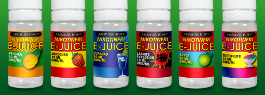 Nikotinfri e-juice 10 ml