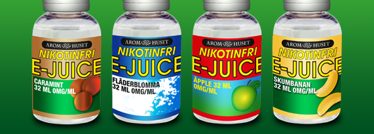 Nikotinfri e-juice 32 ml