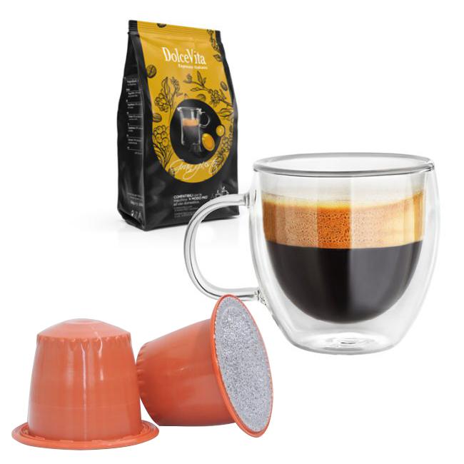 Gran Gusto kaffekapslar till Nespresso ®