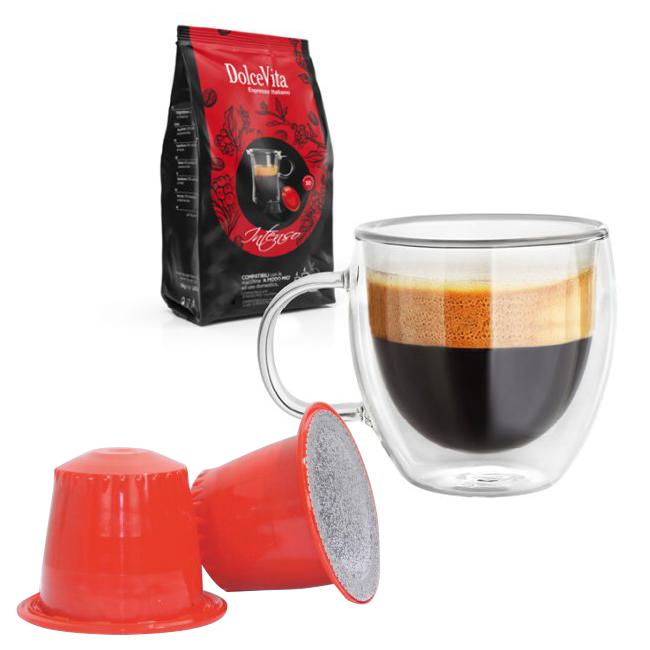 Intenso kaffekapslar till Nespresso ®