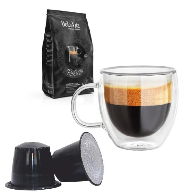 Ristretto kaffekapslar till Nespresso ®