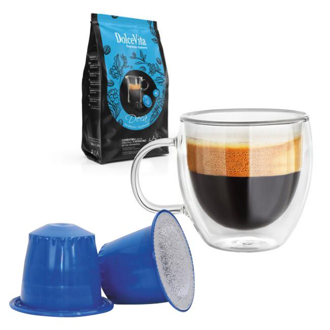Decà kaffekapslar till Nespresso ®