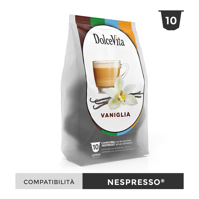 Vaniglia till Nespresso®