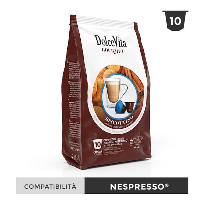 Biscottino kapslar till Nespresso®