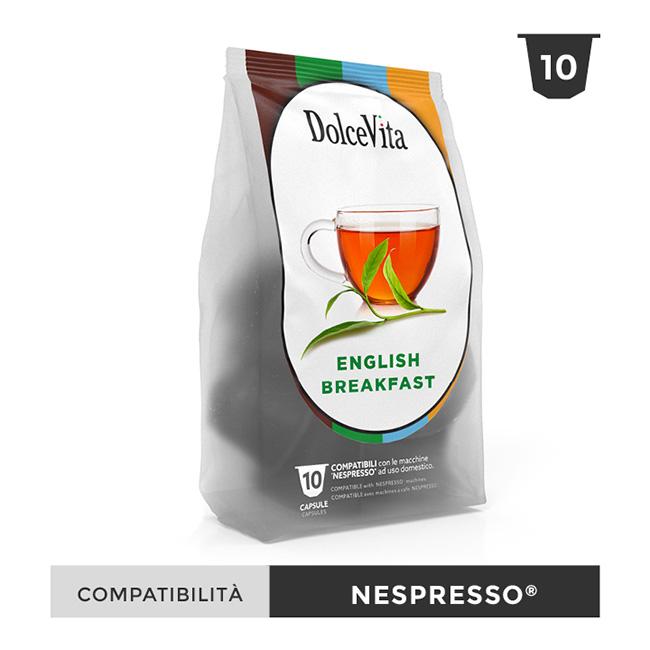 English Breakfast te till Nespresso®