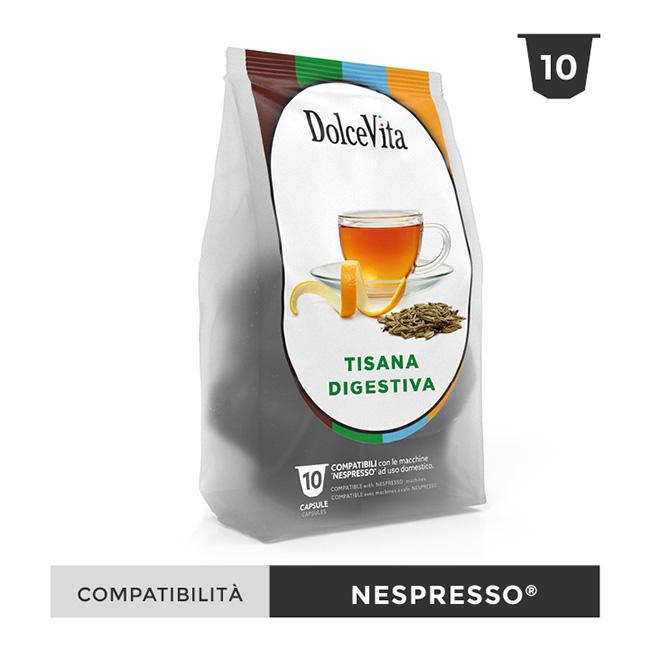 Tisana Digestiva kryddat fruktte till Nespresso®