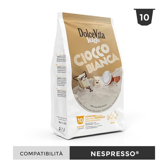 Cioccolata Bianca till Nespresso®