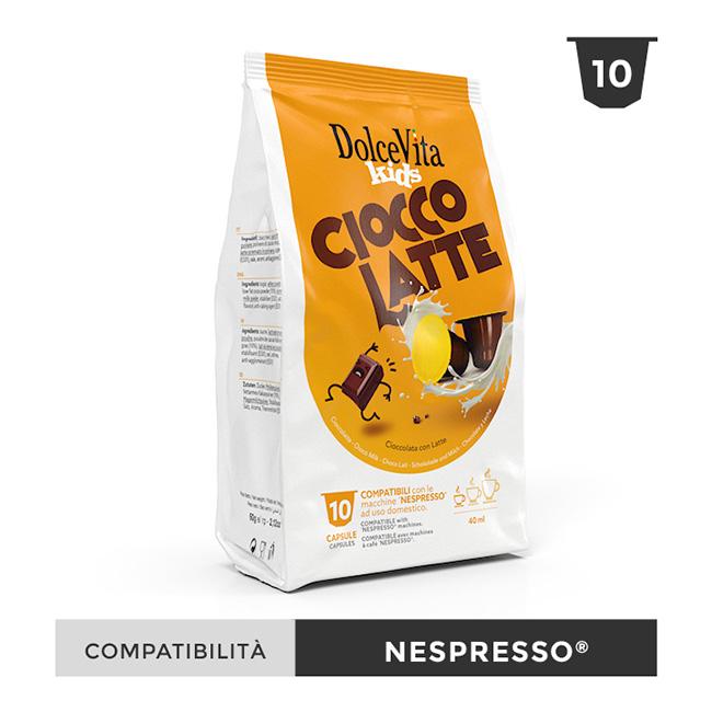 Ciocco Latte till Nespresso®