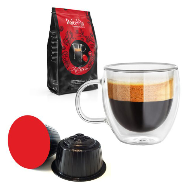 Intenso kaffekapslar till Dolce Gusto ®