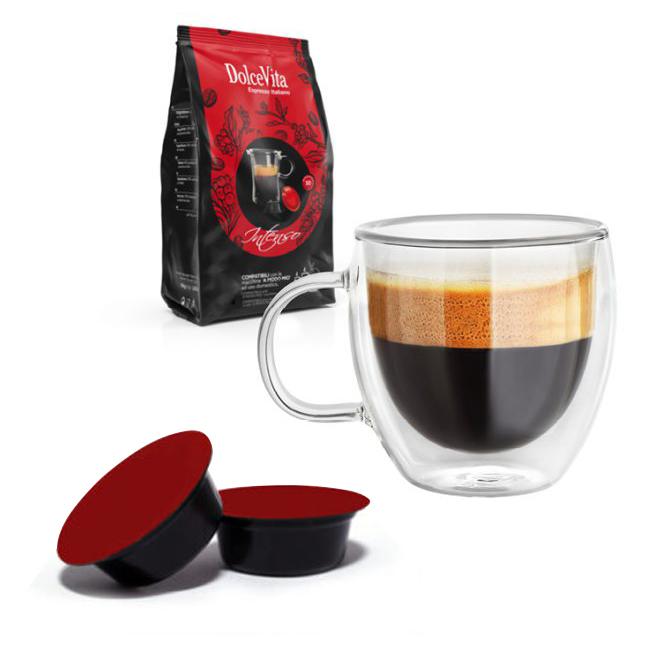 Intenso kaffekapslar till Lavazza A Modo Mio ®