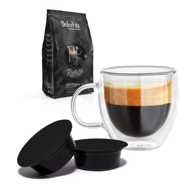 Ristretto kaffekapslar till Lavazza A Modo Mio ®