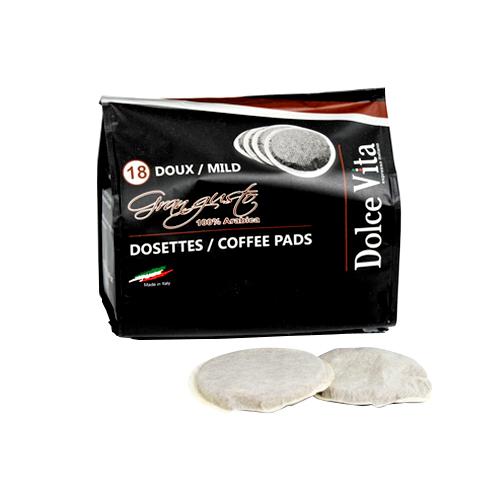Gran Gusto kaffepads till Senseo®
