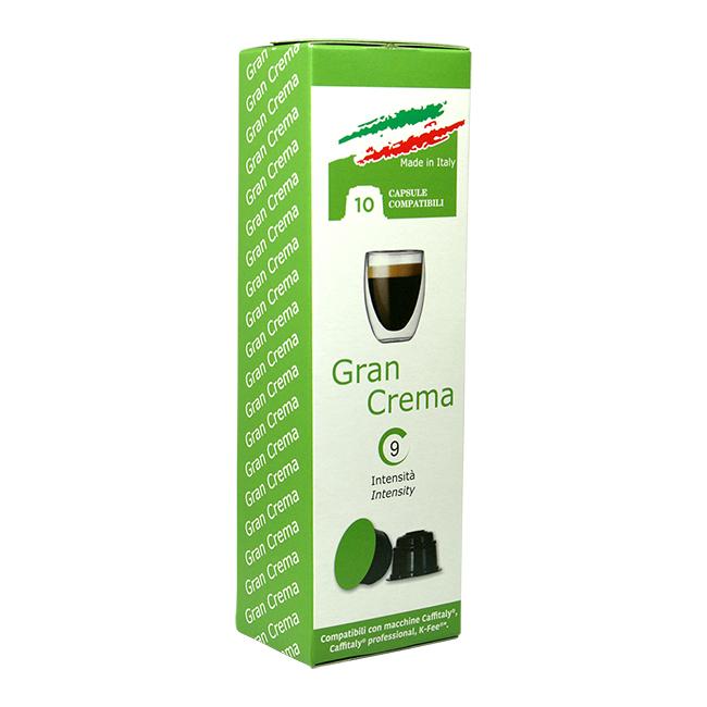 Gran Crema kaffekapslar till Caffitaly®