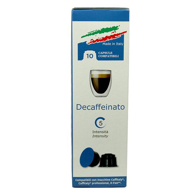 Decaf Kaffekapslar till Caffitaly®