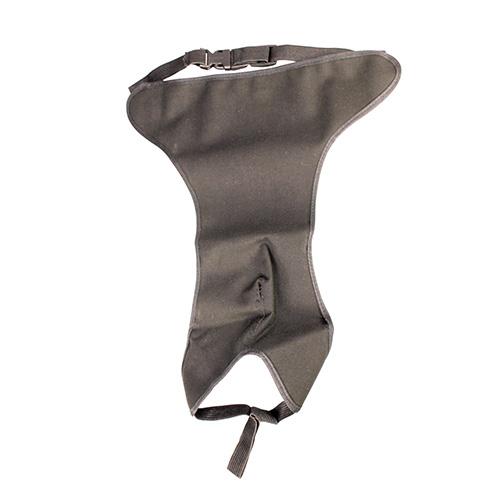 Tikskydd vattentätt svart 50cm-70cm storlek 4