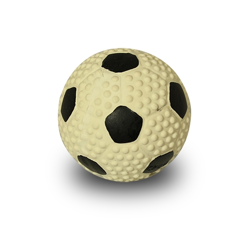 Fotboll Latex liten Vit/Svart 7 cm.