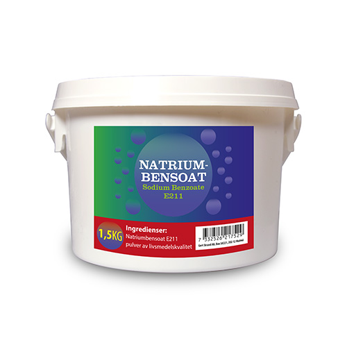 Natriumbensoat 1500 gram