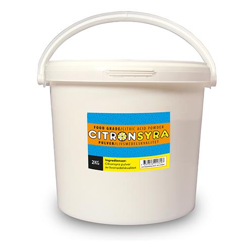 Citronsyra 2 kg hink