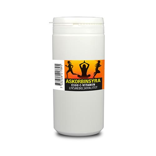 Askorbinsyra C vitamin 100 g av livsmedelskvalitet