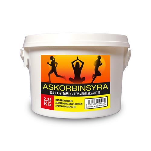 Askorbinsyra C vitamin 2250 g