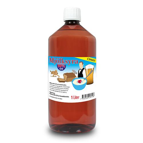 Mjölksyra 80% 1 Liter