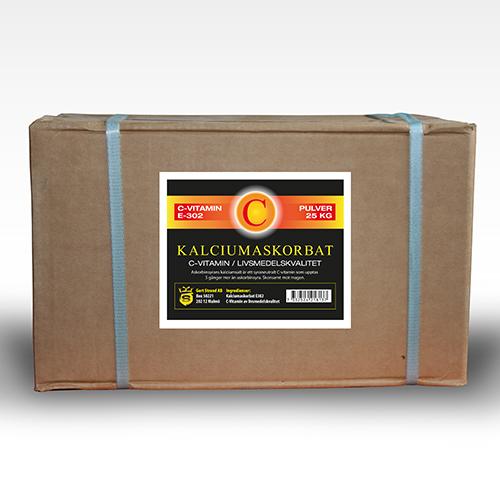 Kalciumaskorbat C vitamin 25 kg