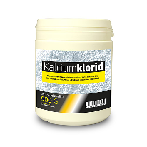 Kalciumklorid livsmedelskvalitet 900 G