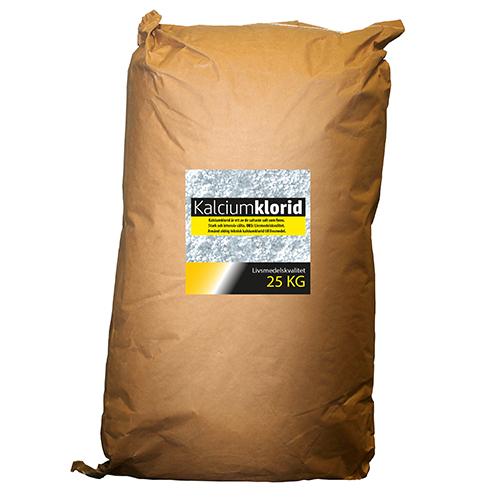 Kalciumklorid supersalt salt i livsmedelskvalitet 25 kg