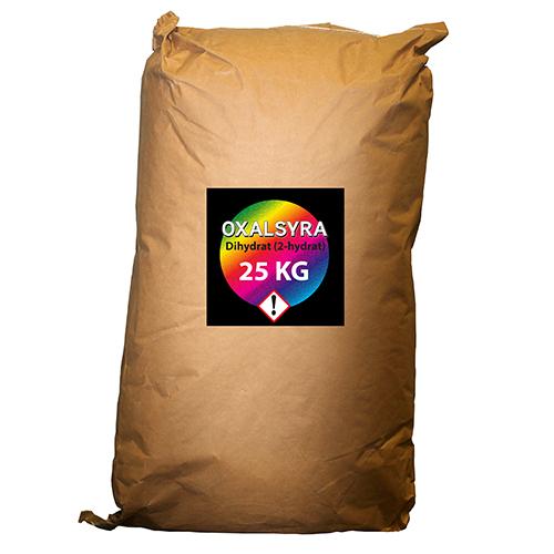 Oxalsyra dihydrat teknisk 25 kg Biodlarvänlig