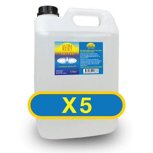 ULTRA-rent vatten 25 Liter