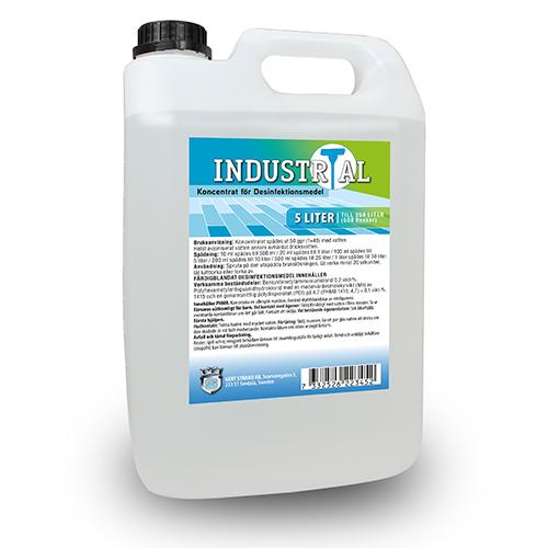 INDUSTRIkoncentrat Desinfektionsmedel 5 liter