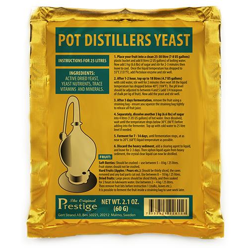 Pot Distillers Turbojäst 18%