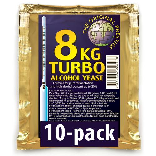 PR Turbojäst 18% 10-Pack