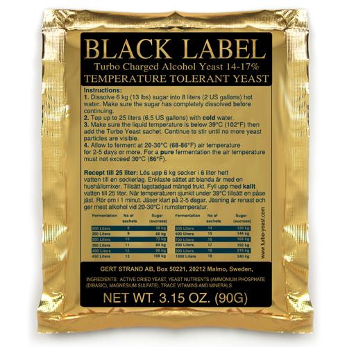 Black Label Turbojäst 14%