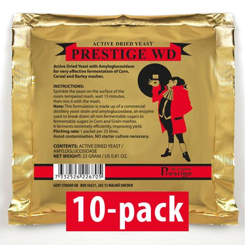 WD-Jäst för 25 liter 10-Pack