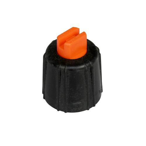 Flatstrålemunstycke miniflöde orange 0 66 l/min vid 3 bar