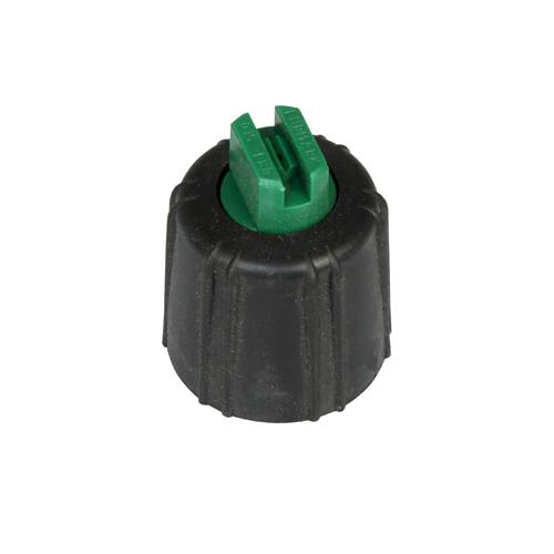 Flatstrålemunstycke mikroflöde grön 0 64 l/min vid 3 bar