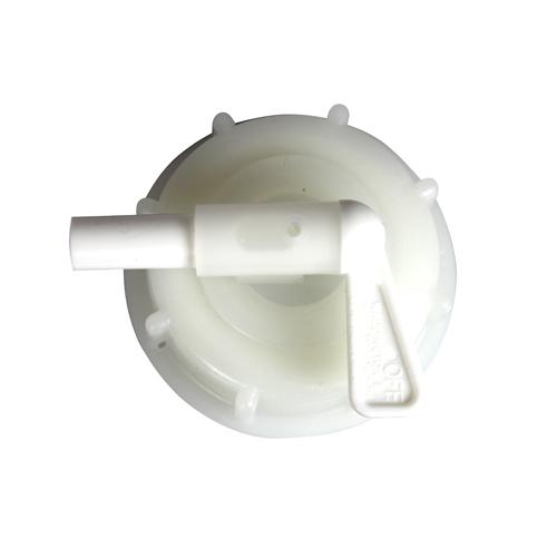 Serveringskran 8 mm med 61 mm lock