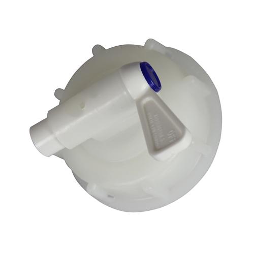 Plastkran 12mm med 61mm lock & avluftning