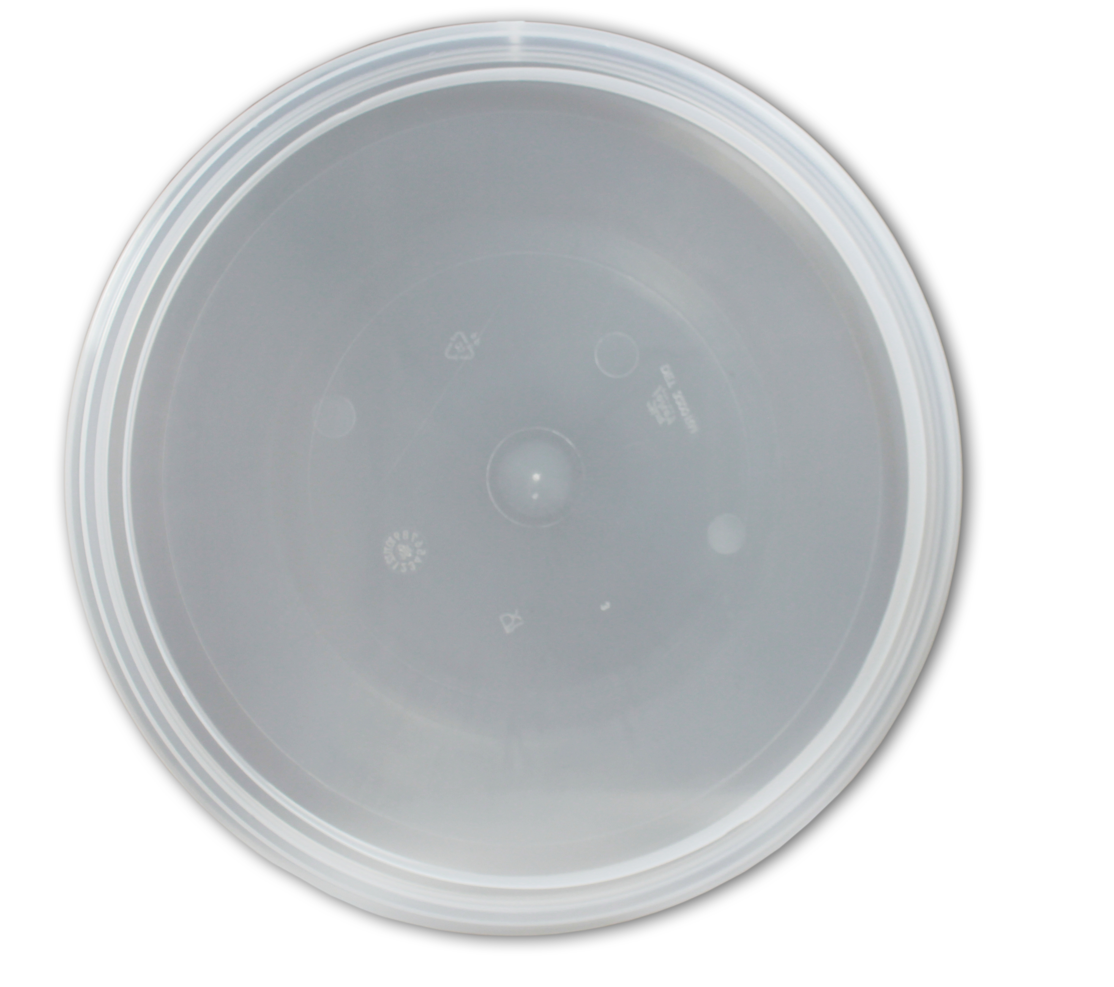 Hinklock DT325 - 32 5 cm diameter av transparent PP plast