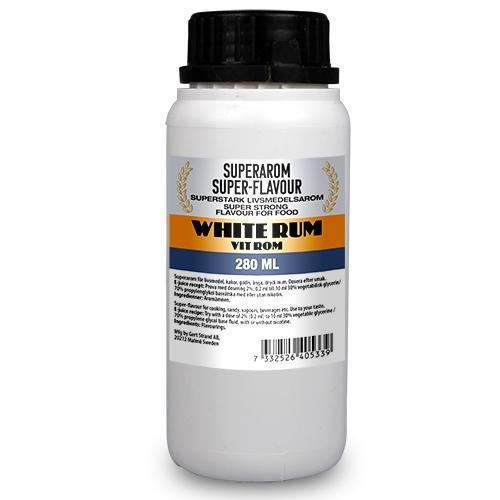 Superarom Rum white 280 ML PG70/VG30