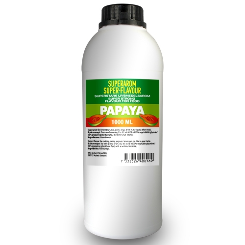 Superarom Papaya 1 Liter