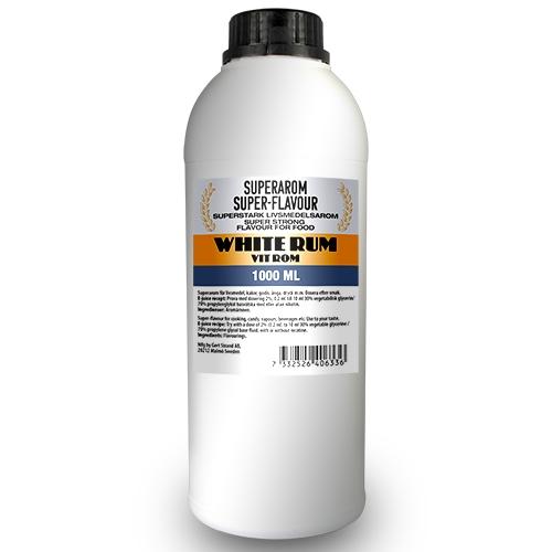 Superarom Rum white 1 Liter  PG70/VG30