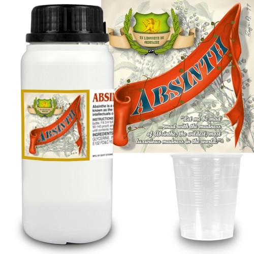 Absint Pro essens 280 ml + 14 absintetiketter och mått