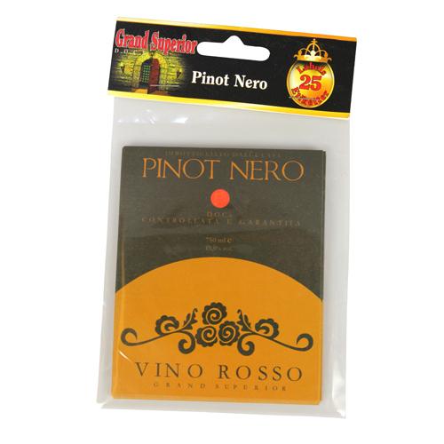 Vinetiketter Pinot Nero Gummerade