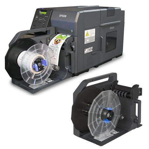 Upprullare för etiketter till Epson minitryckeri 7500G